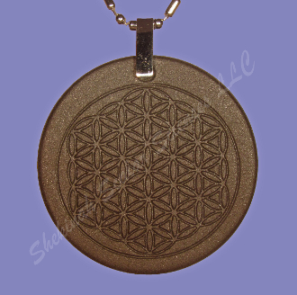 FLOWER OF LIFE Zero-point Energy Pendant  6467 Ions