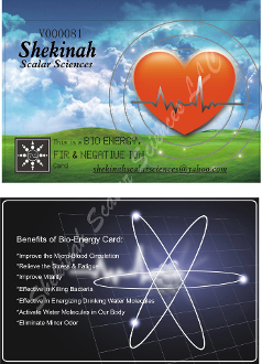 Shekinah Zero-point Energy Card