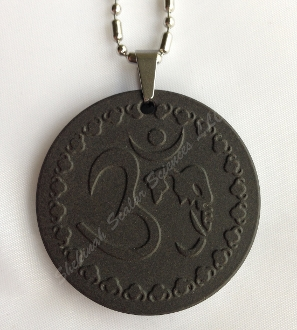 OM AUM Shekinah Zero-point Energy Pendant 7472 Ions